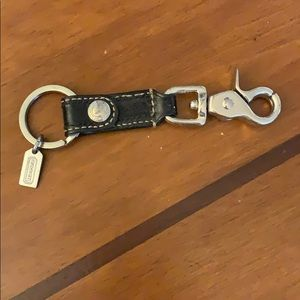 Coach key keychain